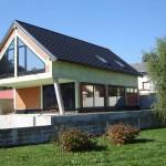 Novogradnja v Vnanjih Goricah (Brezovica pri Ljubljani)